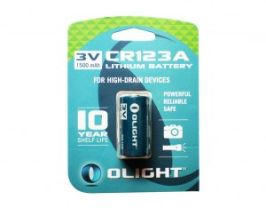 Bateria Olight 3V CR123A 1500 mAh