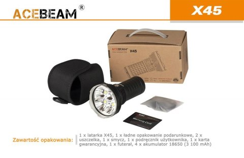Flashlight Acebeam X45 -Cree XHP70 P2,