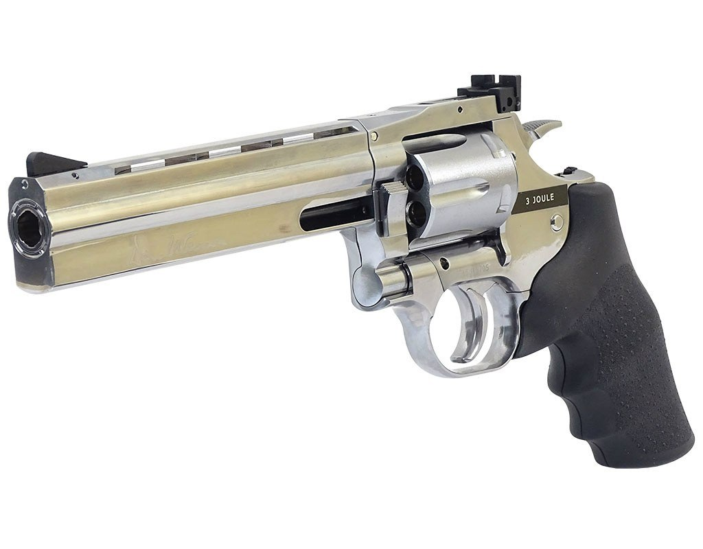"Windbreaker-revolver Dan Wesson 715 6 ""BB 4.5 mm Silver"