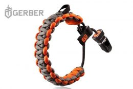 Paracord SURVIVAL bracelet with GERBER BG