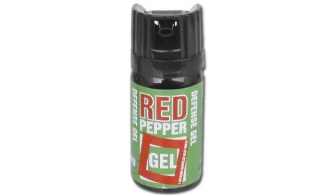 PEPPER SPRAY DEFENCE RED PEPPER GEL 40 ML