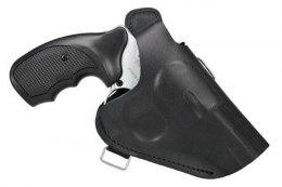 Leather Holster for REVOLVERS with a short BARREL 2.5