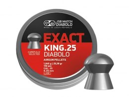 Shotgun pellets JSB diabolo Exact King 6.35 mm 150 PCs.