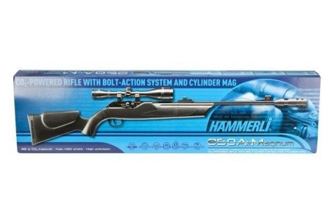 Hammerli 850 AirMagnum carbine gun SET. 4.5 mm