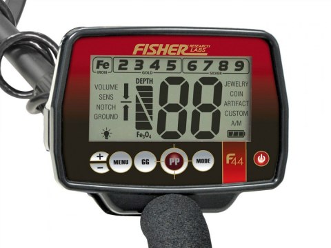 Metal detector FISHER F44 11 ""