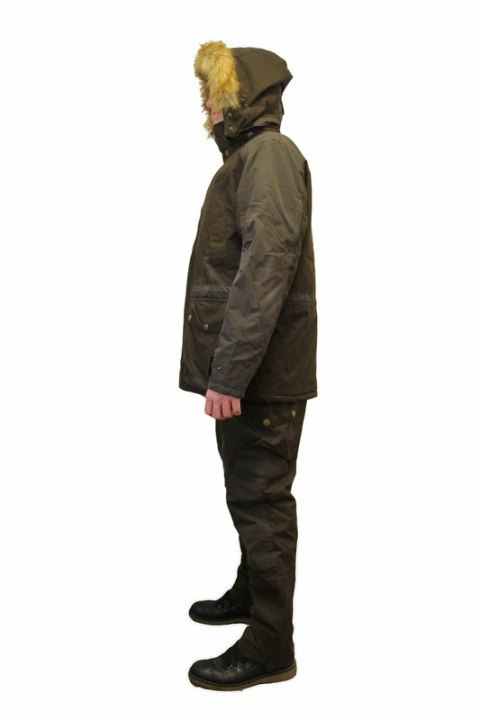 Jumpsuit Remington hunting lodge Men Shadow Brown