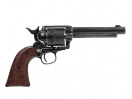 "Colt SAA windbreaker revolver. 45-5.5 ""antique 4.5 mm Diabolo CO2"