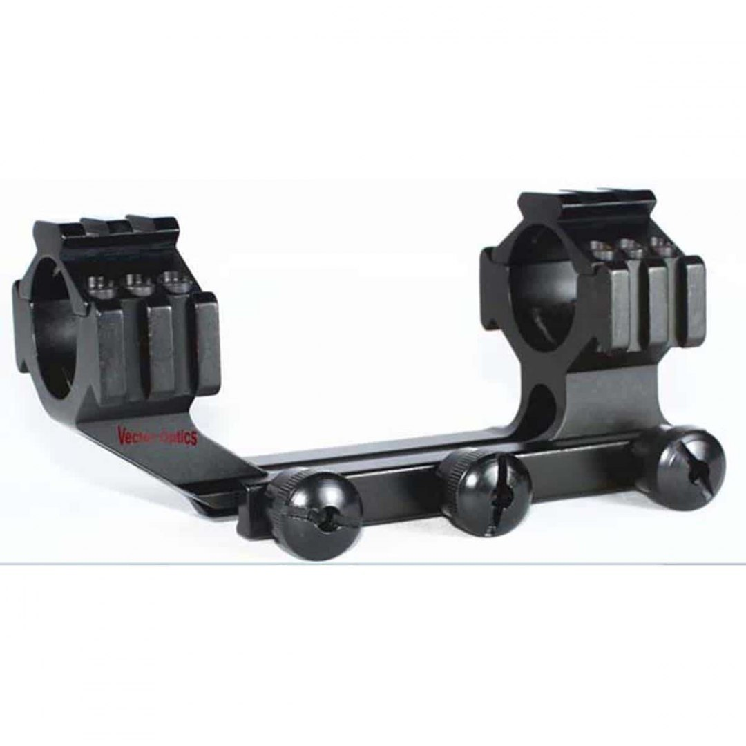 "Vector Optics 30mm/1"" One-Piece Mount on Weaver Long"