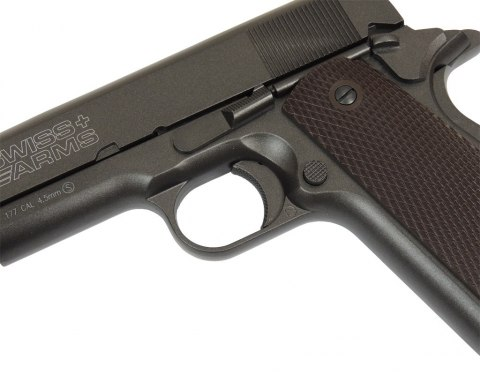 Wiatrówka CyberGun Swiss Arms P1911 4,5 mm