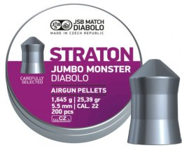 Shotgun pellets JSB diabolo Jumbo Straton Monster 5.51 mm