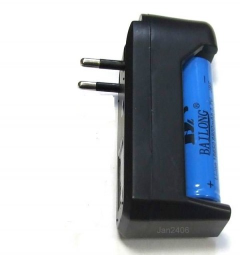 Charger + Rechargeable 18650